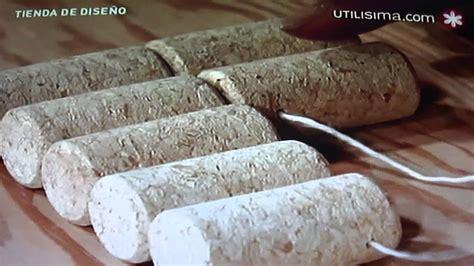 cuadro con corchos de vino profa anabel velazquez en utilisima tapete elaborado con