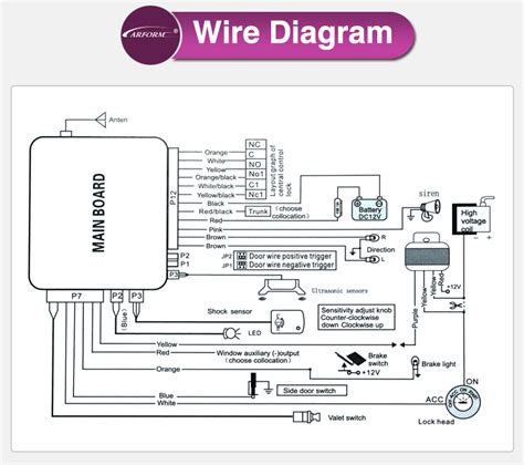 cyclone car alarm wiring diagram viper security wiring