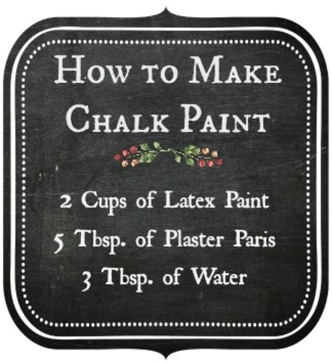 chalkboard paint easy to use 11 diy chalk paint recipes and ideas tip junkie