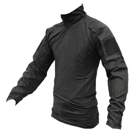 Combat Shirt Black tactical combat shirt black