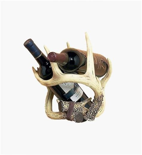 antler wine rack 40 unique wine racks and holders for storing your bottles with style