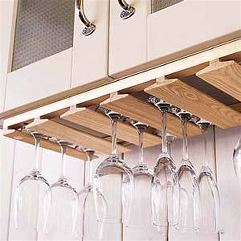 cabinet glass rack 33 diy wine glass racks guide patterns