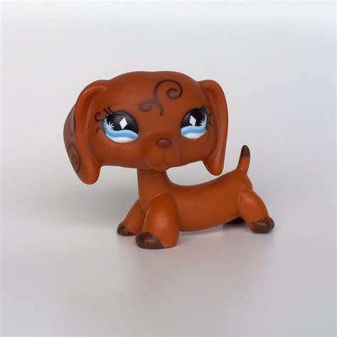 lps ebay dogs dachshund 640 littlest pet shop original toys lps ebay