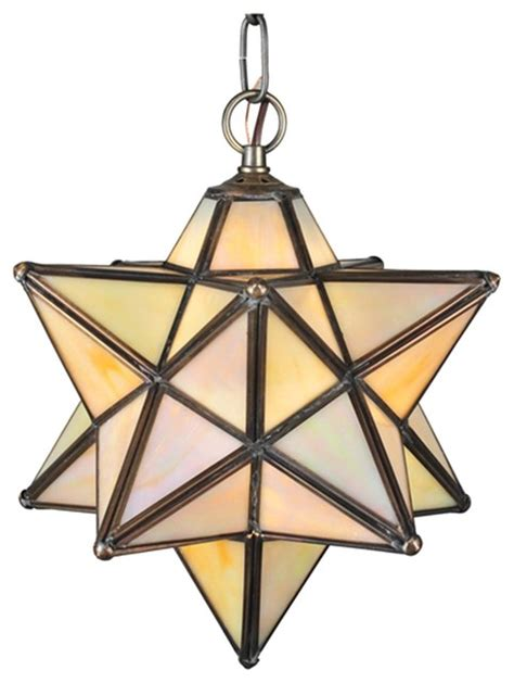 meyda tiffany moravian star 9 quot modern contemporary