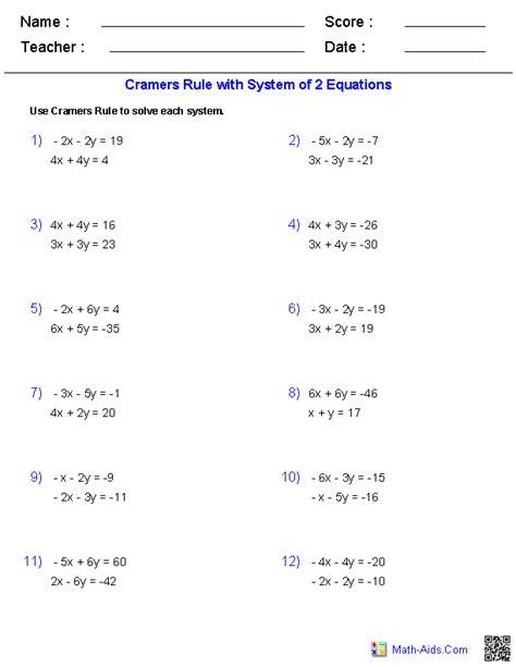 matrices practice worksheet algebra 2 worksheets matrices worksheets