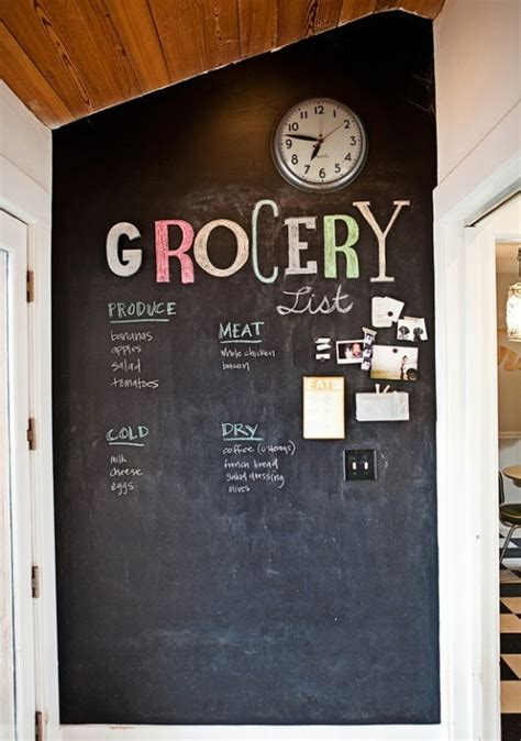 chalkboard paint wall update that kitchen thehomebarn ie