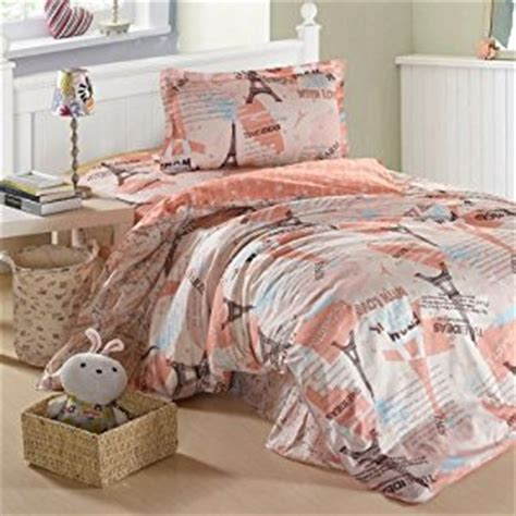 twin paris bedding amazon com creative 3 pcs bedding set twin size paris
