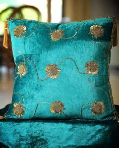 turquoise 17 quot cushion pillow cover peacock silk brocade exquisite jade pillow interiors interiors euro style
