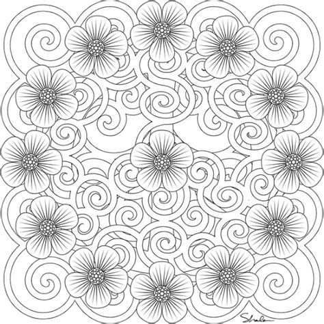 sun and flowers coloring book for adults featuring beautiful and creative floral designs for stress relieve and sweet relaxation books printable coloring pages sun colorings net