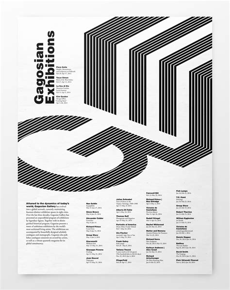 design poster grid sva typography class on behance