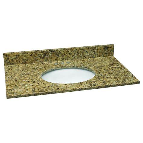 design house granite vanity top design house 37 in w granite vanity top in venetian gold