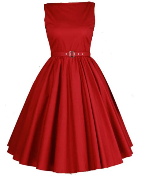 sixties swing dresses hepburn style dress red 1950 s 1960 s rockabilly swing