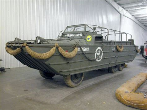 duck boat exhaust dukw walkaround photographies english