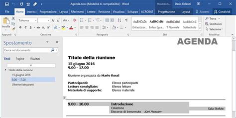 testo word come creare e spostare blocchi di testo in word pc