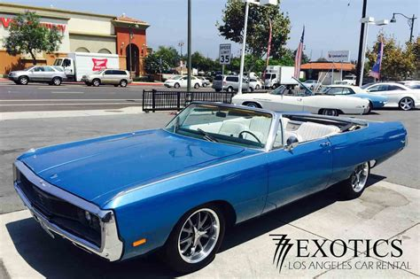 classic car rental los angeles las vegas muscle cars