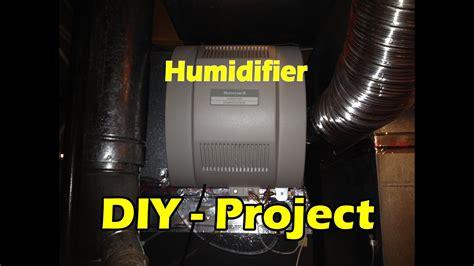 honeywell humidifer install       hour youtube