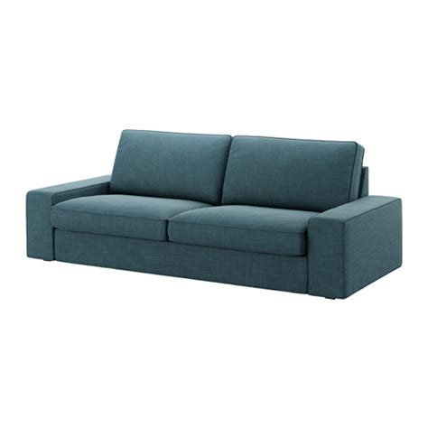 kivik sofa cover hillared blue ikea