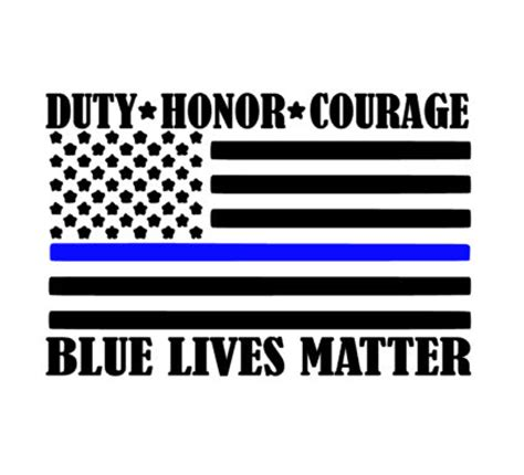 blue lives matter in the line of duty books items similar to blue lives matter americal flag decal