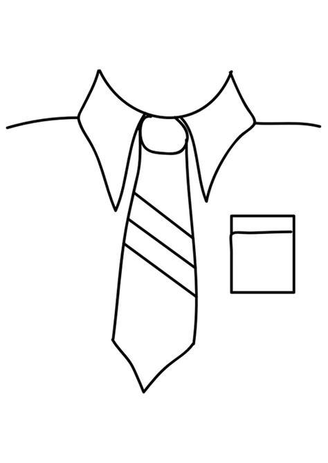 dibujo de corbata para colorear dibujo para colorear camisa con corbata img 29289