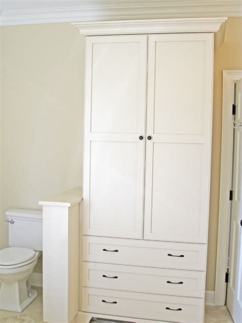 bathroom linen cabinet traditional charleston by sea