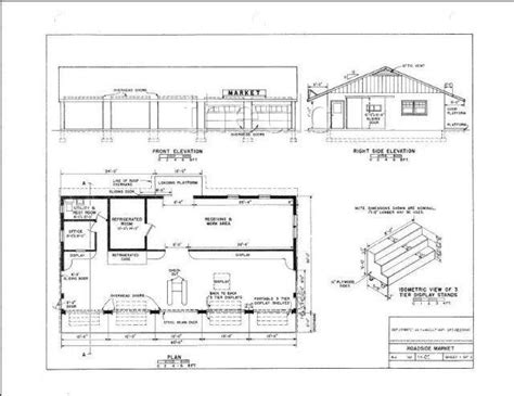 farm blueprints roadside fruit vegetable stand plans blueprints farm