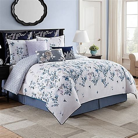 bridge street willow reversible comforter set bed bath