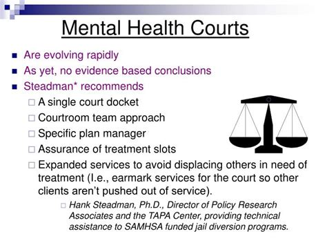 mental health court ppt jail diversion in north carolina powerpoint