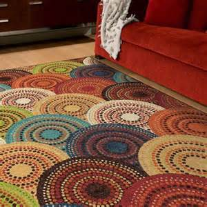 colored area rugs orian gomaz area rug multi color walmart