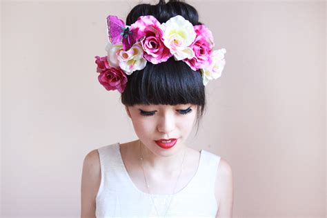Japan Home Decor flower crown heaven k is for kani