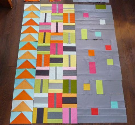 Ideas Design For Colorful Quilts Concept Grace And Favour Those Center Square Blocks Easy Baby Quilt Idea Easy Baby Quilt Ideas