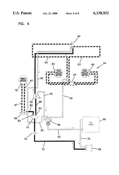 wood chipper diagram patent us6138932 wood chipper with loading boom