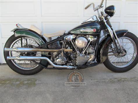 Knucklehead Harley Davidson by 1947 Harley Davidson El Bobber Knucklehead Sold For Sale