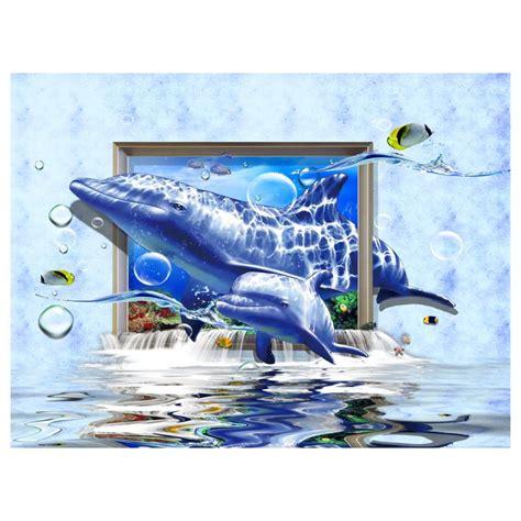 children es wall karten marco de dibujos animados 3d shark pared cuadros para