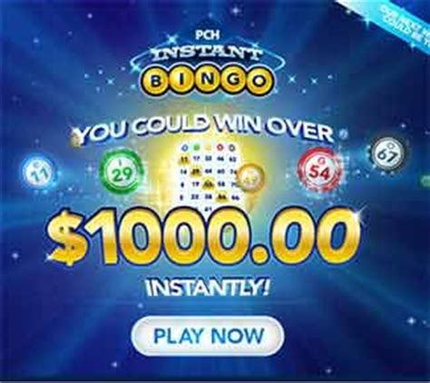 Pch Sweepstakes Games And More - pchbingo com pch bingo 1 000 instant win jackpot sweepstakes and contests