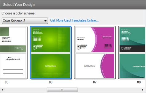 business card template software cardworks business card software screenshots