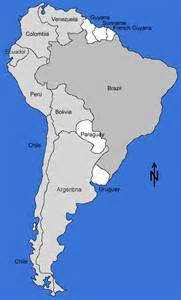 show a map of south america maps south america