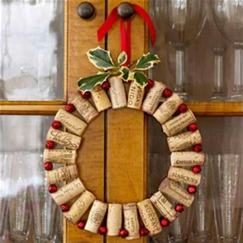 cork wreath seasonal
