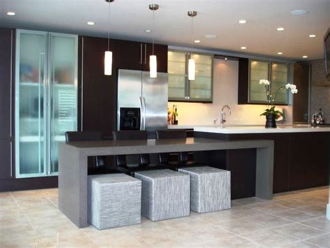 Contemporary Kitchen Island | 15 modern kitchen island designs we love