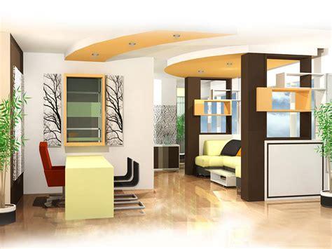 gambar desain yang baik desain interior ruang lobby resepsionis kantor metro