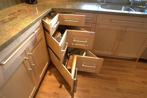 Kitchen Corner Drawers by Corner Drawers Kitchen San Diego By