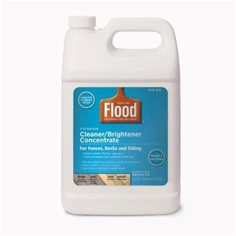 oxalic acid home depot flood 1 gal cleaner and brightener concentrate fld910 000