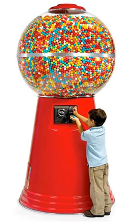pictures machine is too big there s no such thing as too big it s the 14 450 gumball