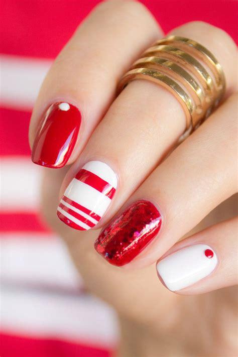 imagenes de uñas decoradas rojo 15 dise 241 os de u 241 as que puedes hacer paso a paso