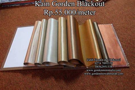 Model Korden Blackout Imporcabang Curuglegok gorden blackout rp 55 000 m model gorden rumah minimalis modern terbaru