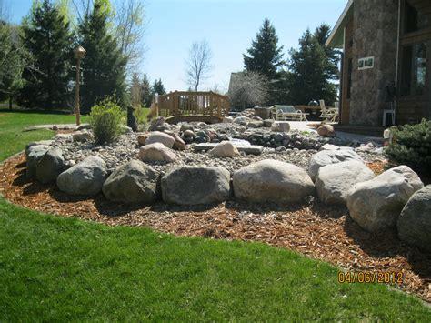 ideas rock and boulders for landscaping bistrodre porch and landscape ideas