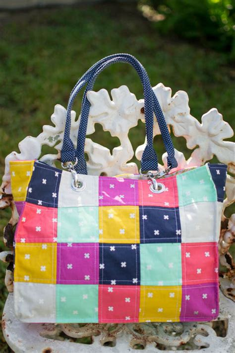 Easy Patchwork Bag Patterns - speedy patchwork tote bags easy sewing tutorial