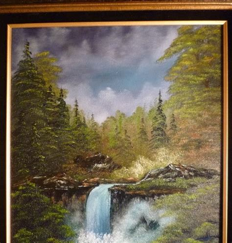 bob ross painting instructor course don belik bob ross 174 painting classes secluded falls