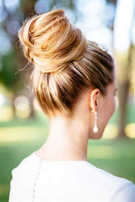 high bun updo wedding 25 good bun wedding hairstyles hairstyles haircuts