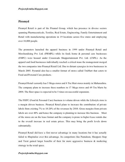 dissertation reports dissertation reports retail