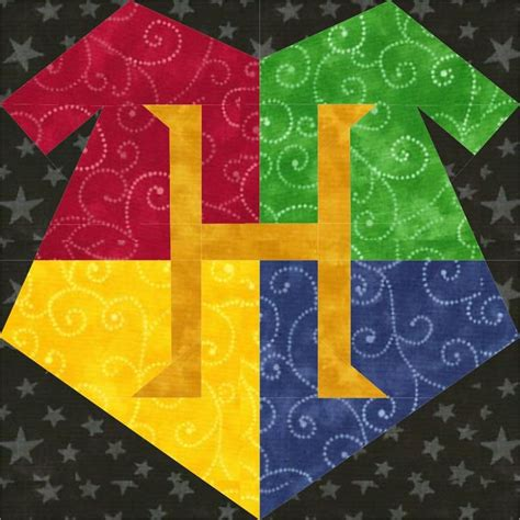 Harry Potter Quilt Blocks pin by pearce on magical world harry potter paper